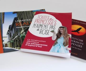 Impression livres couverture souple